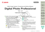 Canon EOS Digital Rebel XTi EF-S 18-55 Kit Instruction Manual for Windows