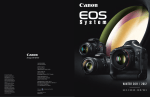Canon EOS-1D System Brochure