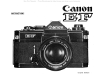 Canon EF User's Manual