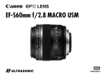 Canon EF-S60MM User's Manual