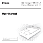Canon 101 User's Manual