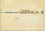 Bronica S Instruction Manual