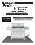 Brinkmann Pro Series 6418 User's Manual