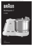 Braun K3000 User's Manual