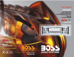 Boss Audio Systems MR1640W User's Manual