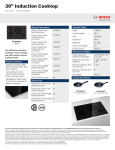 Bosch NIT5066UC Product Information