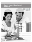 Bosch NGP User's Manual