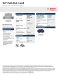 Bosch HUI54451UC Product Information