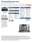 Bosch HMC80251UC Product Information