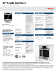 Bosch HBL8451UC Product Information