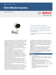 Bosch EX14 User's Manual