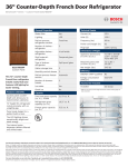 Bosch B22CT80SNP Product Information