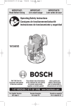 Bosch Power Tools 1613AEVS User's Manual