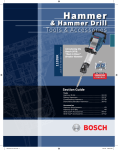 Bosch Power Tools 11253VSR User's Manual