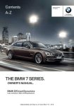 BMW 740Ld Owner's Manual