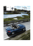 BMW Z4 Owner's Manual