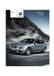 BMW M3 Owner's Manual