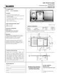 Blanco Axis 511-738 User's Manual