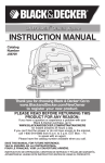 Black & Decker JS670V User's Manual