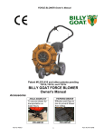 Billy Goat F1301H User's Manual