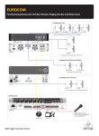Behringer EUROCOM CL2200YB-WH Application Guide