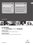 Behringer BCR2000 User's Manual