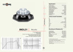 B&C Speakers 8NDL51 User's Manual