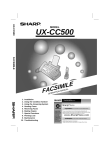 Back to Basics UX-CC500 User's Manual