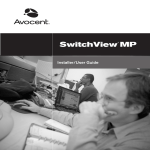 Avocent SwitchView MP User's Manual