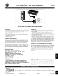 Atlas Sound CFT-125 User's Manual