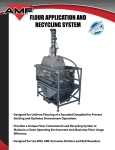 AMF Flour Application and Recycling System User's Manual