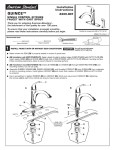American Standard QUINCE 4433.001 User's Manual
