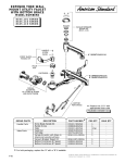 American Standard Exposed Yoke Wall-Mount Utility Faucet 8345.110 User's Manual