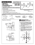 American Standard Enfield 2373.401 User's Manual
