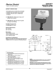 American Standard Akron Service Sink 7695.000 User's Manual