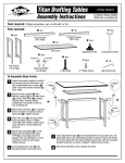 Alvin Drafting Table User's Manual