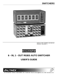 Altinex MX2206RM User's Manual