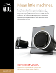 Altec Lansing FX2020 User's Manual