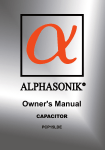 Alphasonik PCP15LDE User's Manual