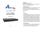 Airlink101 ASW324 User's Manual