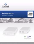 AirLink RAVEN-E EV-DO User's Manual