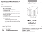 Addonics Technologies RT3DAHEU3 User's Manual