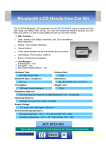 ACTiSYS ACT-BT5510CL User's Manual