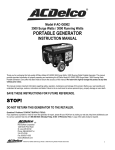 ACDelco AC-G0002 User's Manual