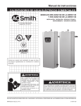 A.O. Smith Gold Xi Series Spanish Technical Documents