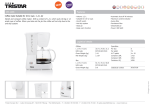 Tristar Coffee maker