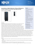 Tripp Lite SmartOnline 100kVA Modular 3-Phase UPS System, On-line Double-Conversion International UPS