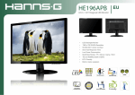 Hannspree Hanns.G HE196APB LED display