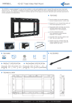 Edbak VWFX65-L flat panel wall mount