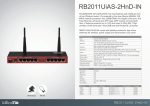Mikrotik RB2011UIAS-2HND-IN router